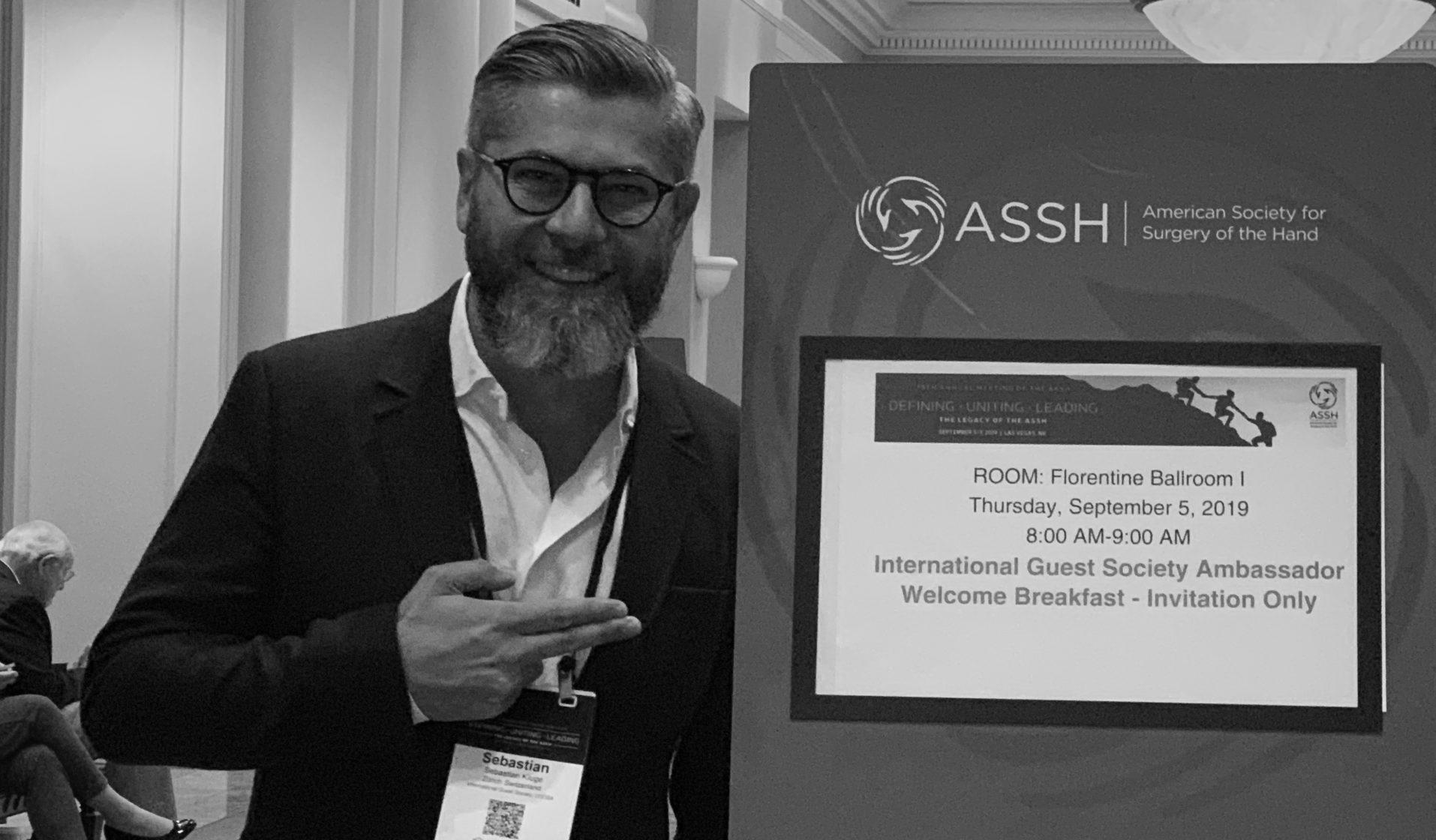 Handchirurgie Seefeld, Sebastian Kluge, Ultraschall, Sonografie, Ultraschalldiagnostik Hand, ASSH 2019