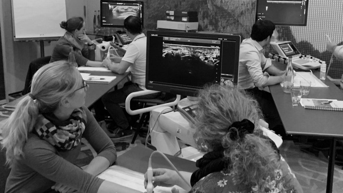 7. Fortbildungskurs Ultraschalldiagnostik der Hand